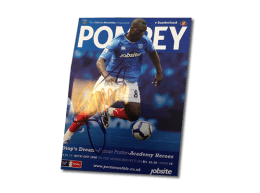 Pompey v Sunderland FA Cup 2010 4th Round programme signed by Papa Boupa Diop