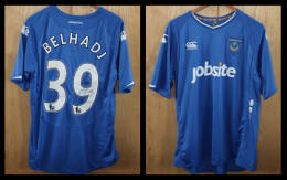 2009/10 Pompey Home Jersey signed by Nadir Belhadj