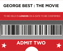 2 TICKETS TO LONDON PREMIERE + Certificate + Screenplay