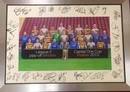 """EXTREMELY RARE SIGNED 2013 """"HISTORY MAKERS"""" PHOTO"""
