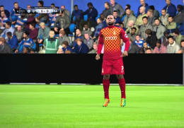 Play FIFA 2016 with a first-team player at the Coral Windows Stadium!