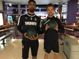 10 Pin Bowling with CUFC's Leon Legge!