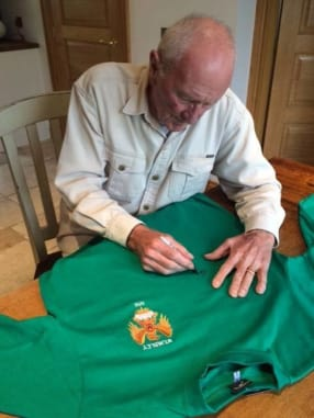 CHANCE TO WIN: Manchester United shirt signed by Harry Gregg