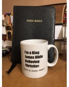 TfT! KJV Bible Believing Mug