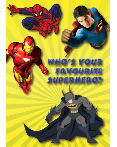 Who's your favourite Superhero?