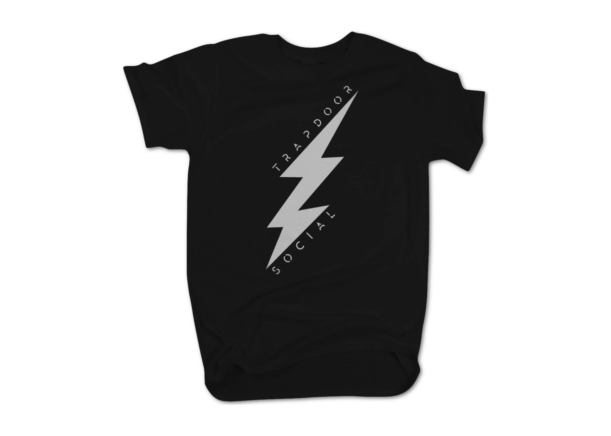 Trapdoor social lightning bolt   black 1476751963