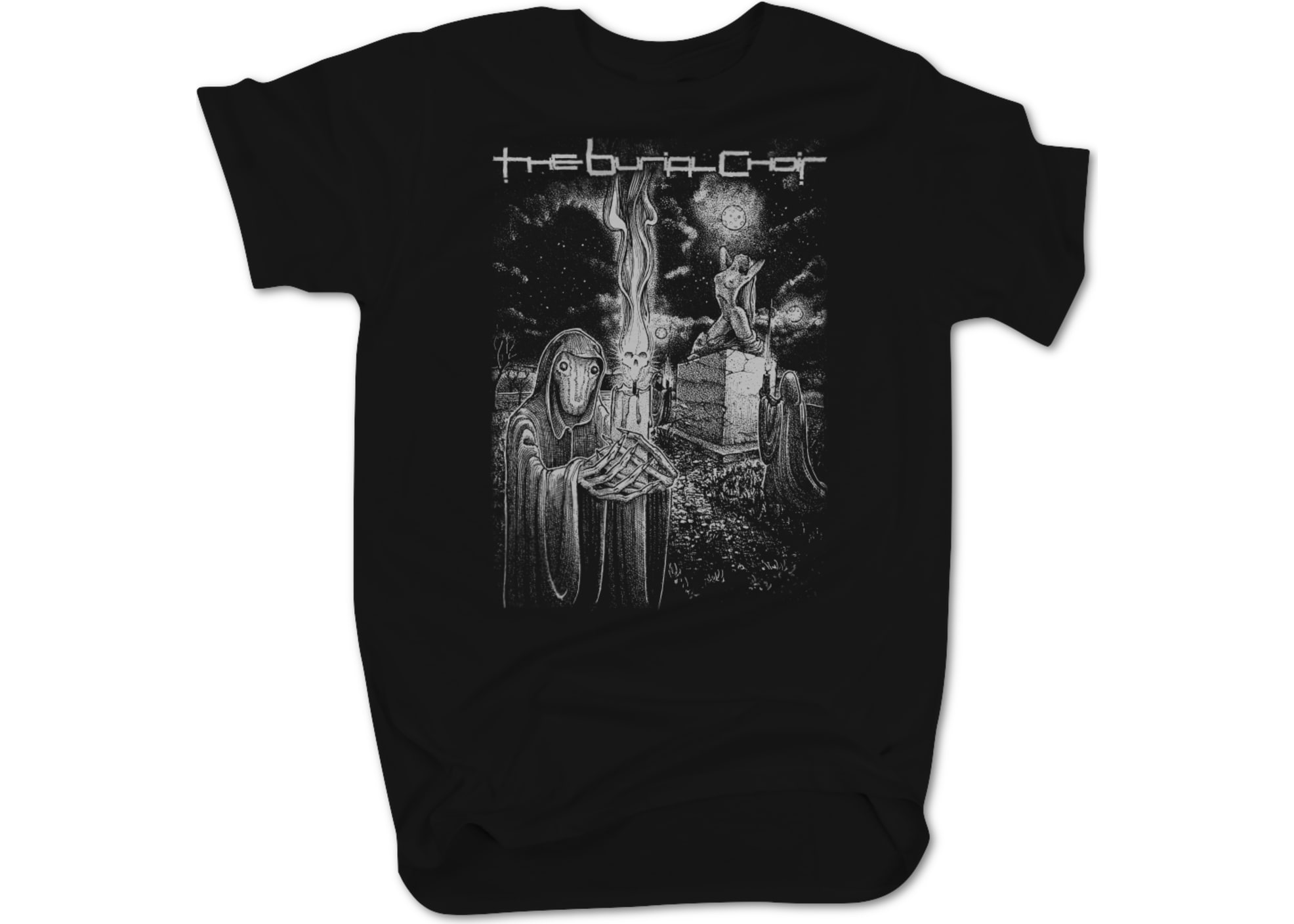 The burial choir relics t shirt 1597107468