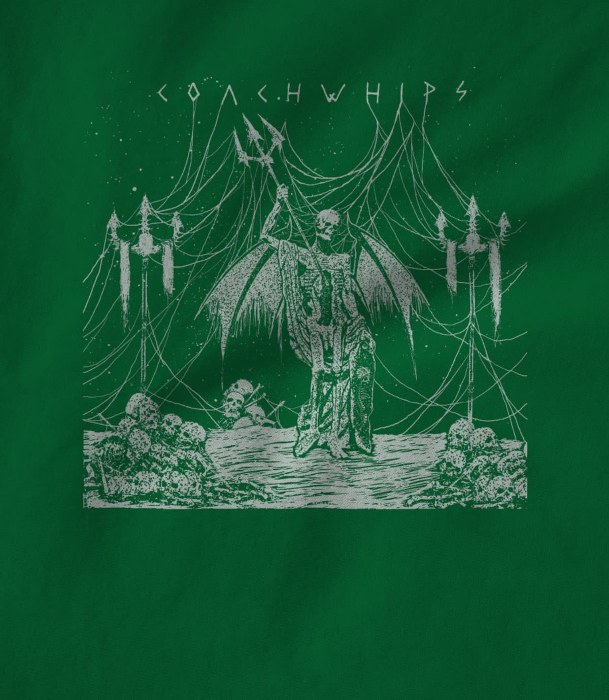 Girlsville coachwhips night train t shirt  green  1568079501
