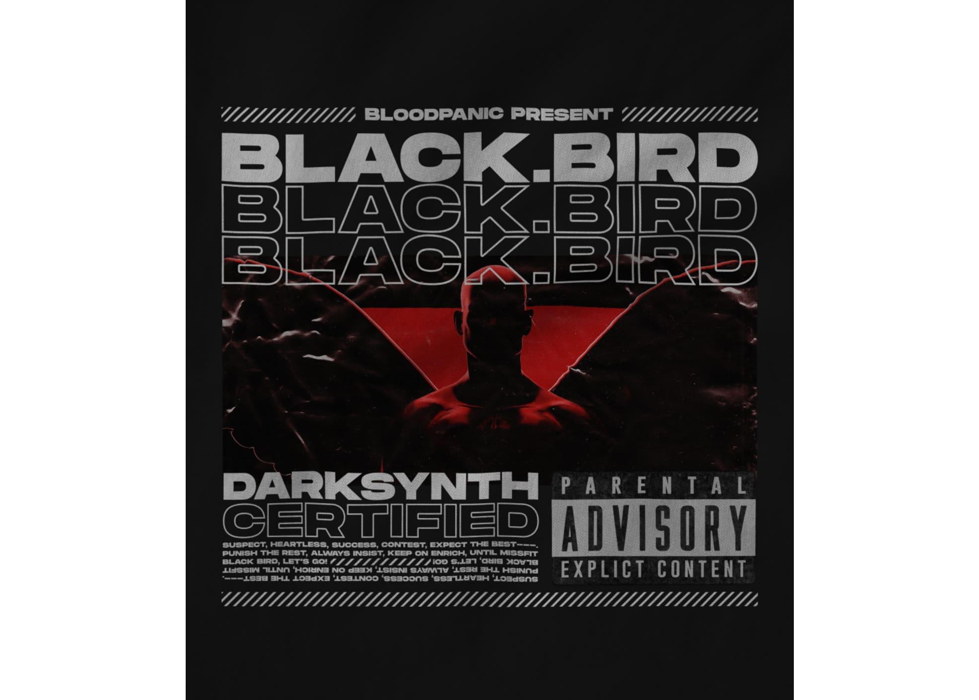 Bloodpanic black bird heavy   black 1622842657