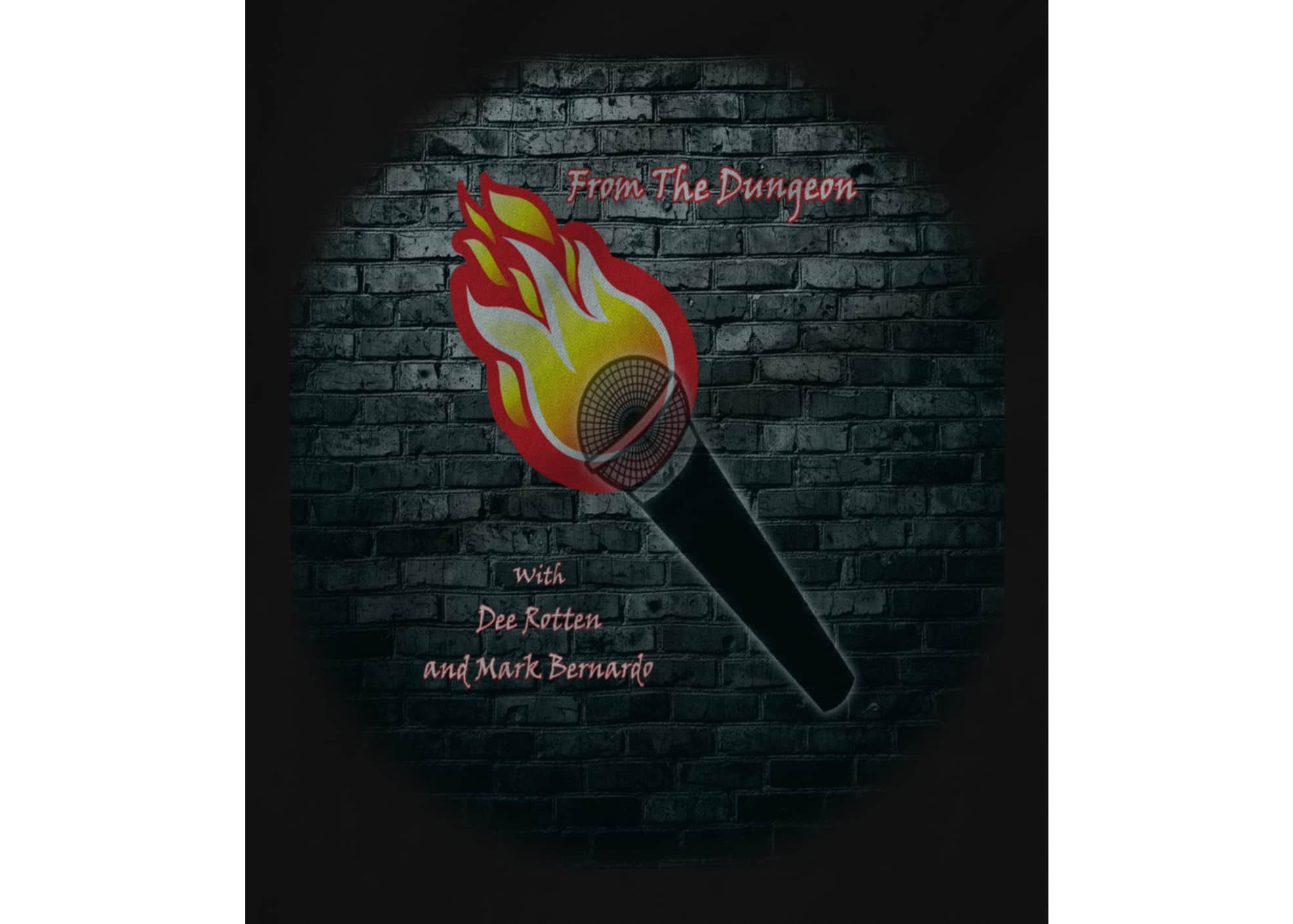 From the dungeon podcast brick wall   fire mic 1524000700
