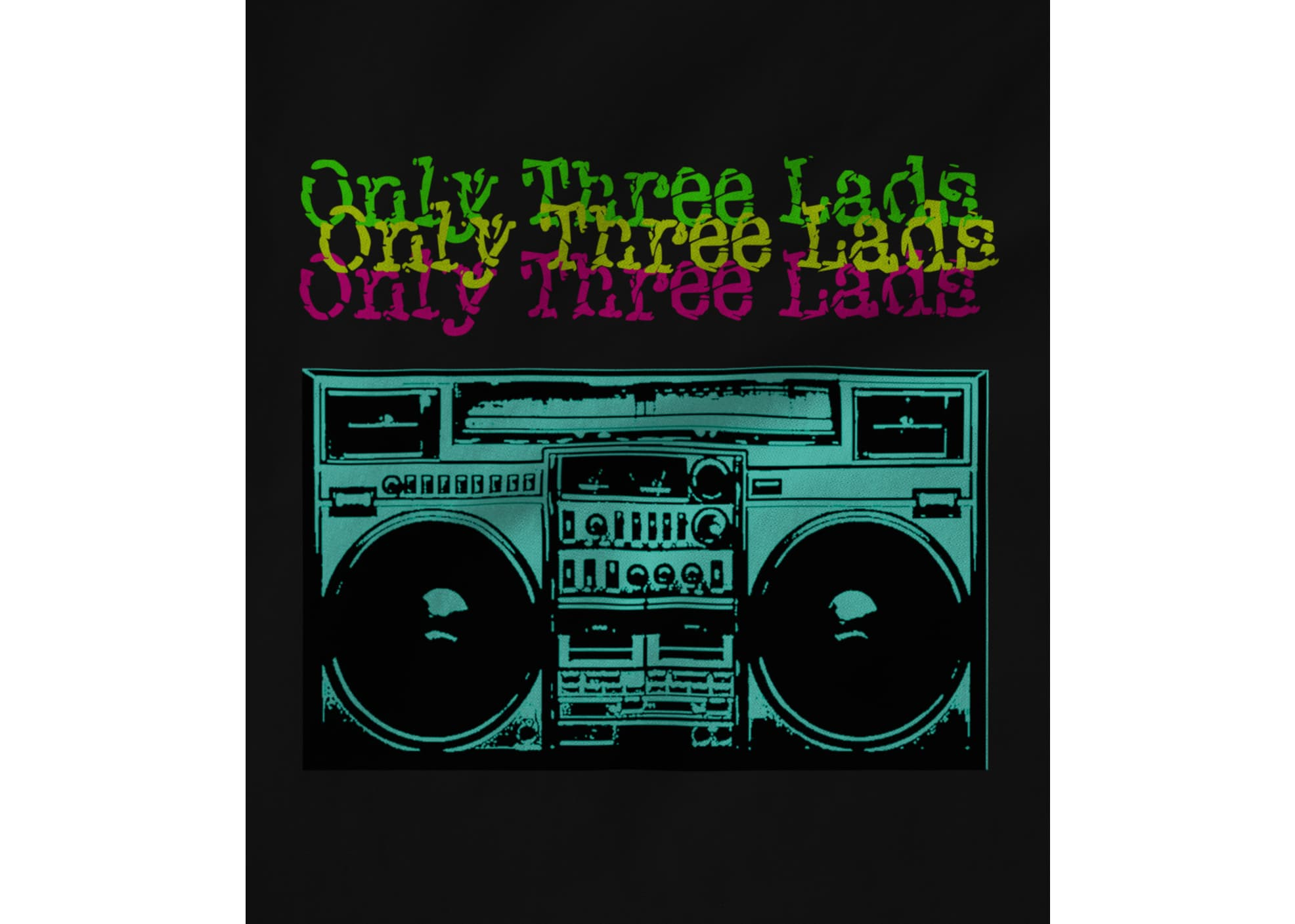 Only three lads o3l   boombox  black  1581058226
