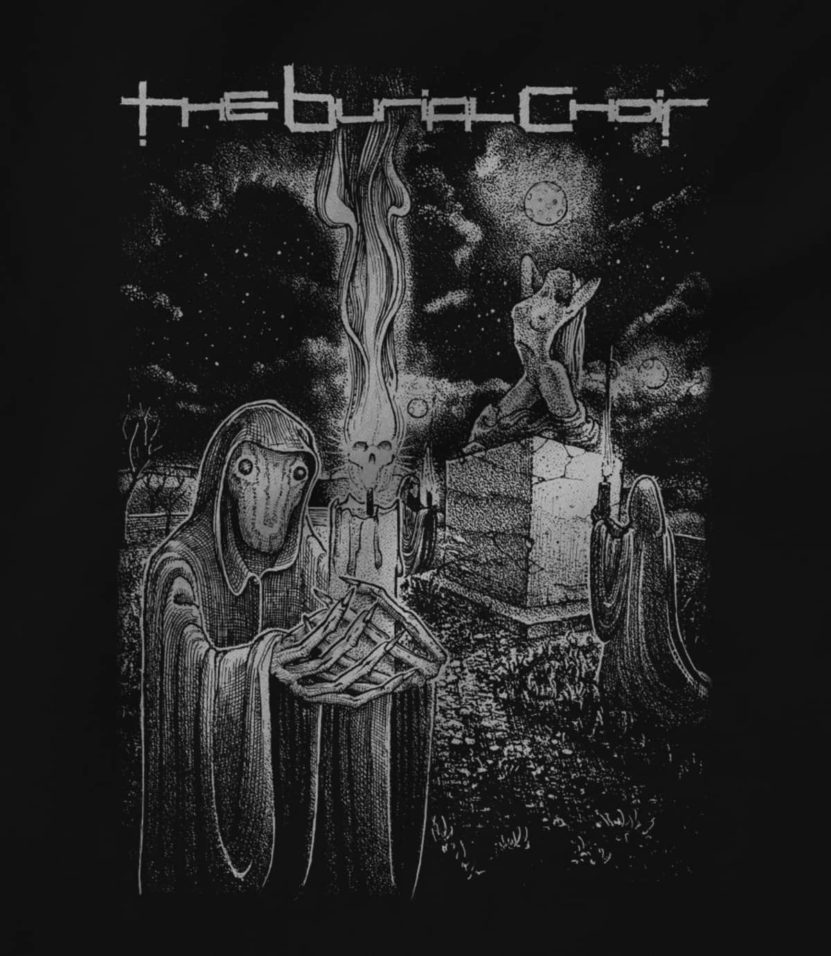 The burial choir relics t shirt 1597107468