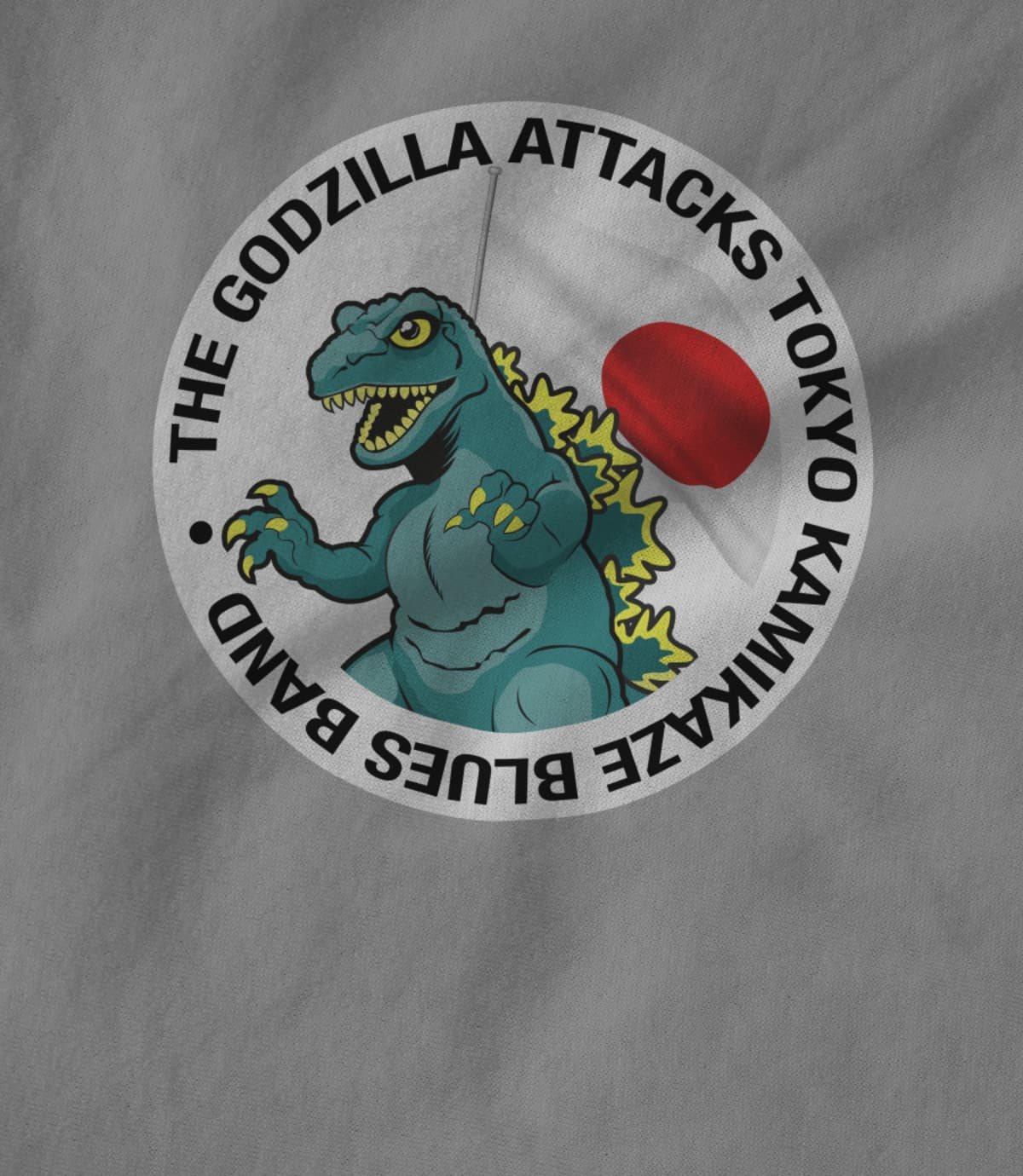 The Godzilla Attacks Tokyo Kamikaze Blues Band
