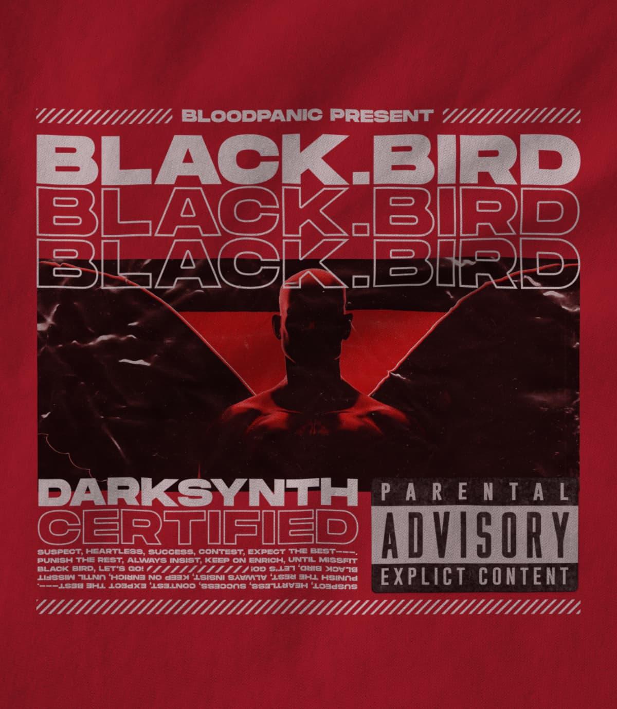 Bloodpanic black bird heavy   red 1622842768