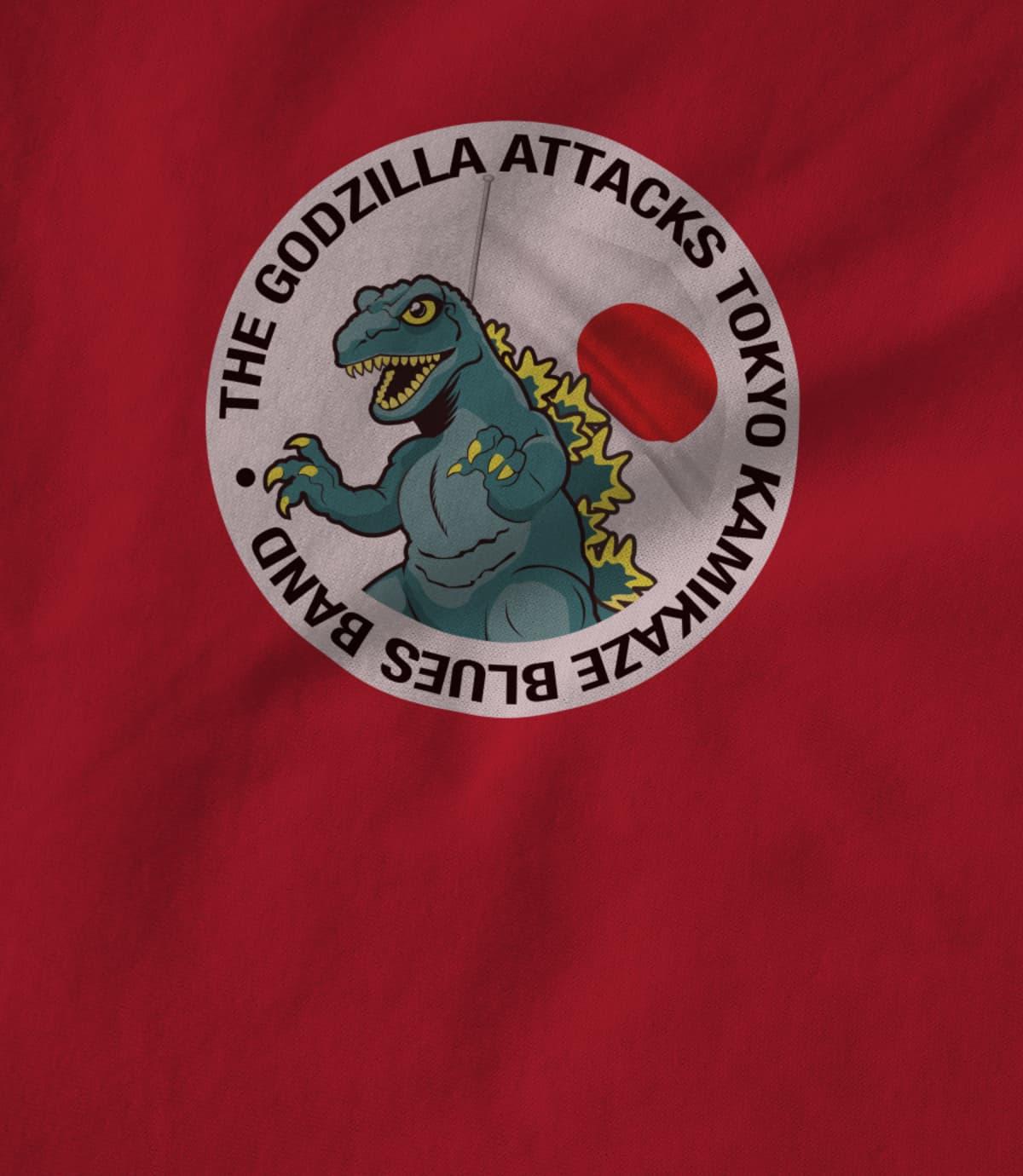 The Godzilla Attacks Tokyo Kamikaze Blues Band
