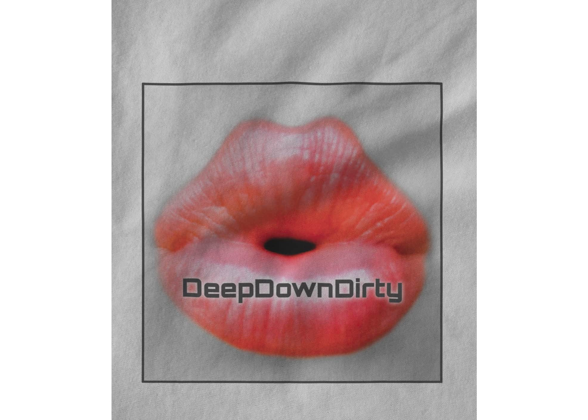 Deepdowndirty record label classic lips square 1522800469