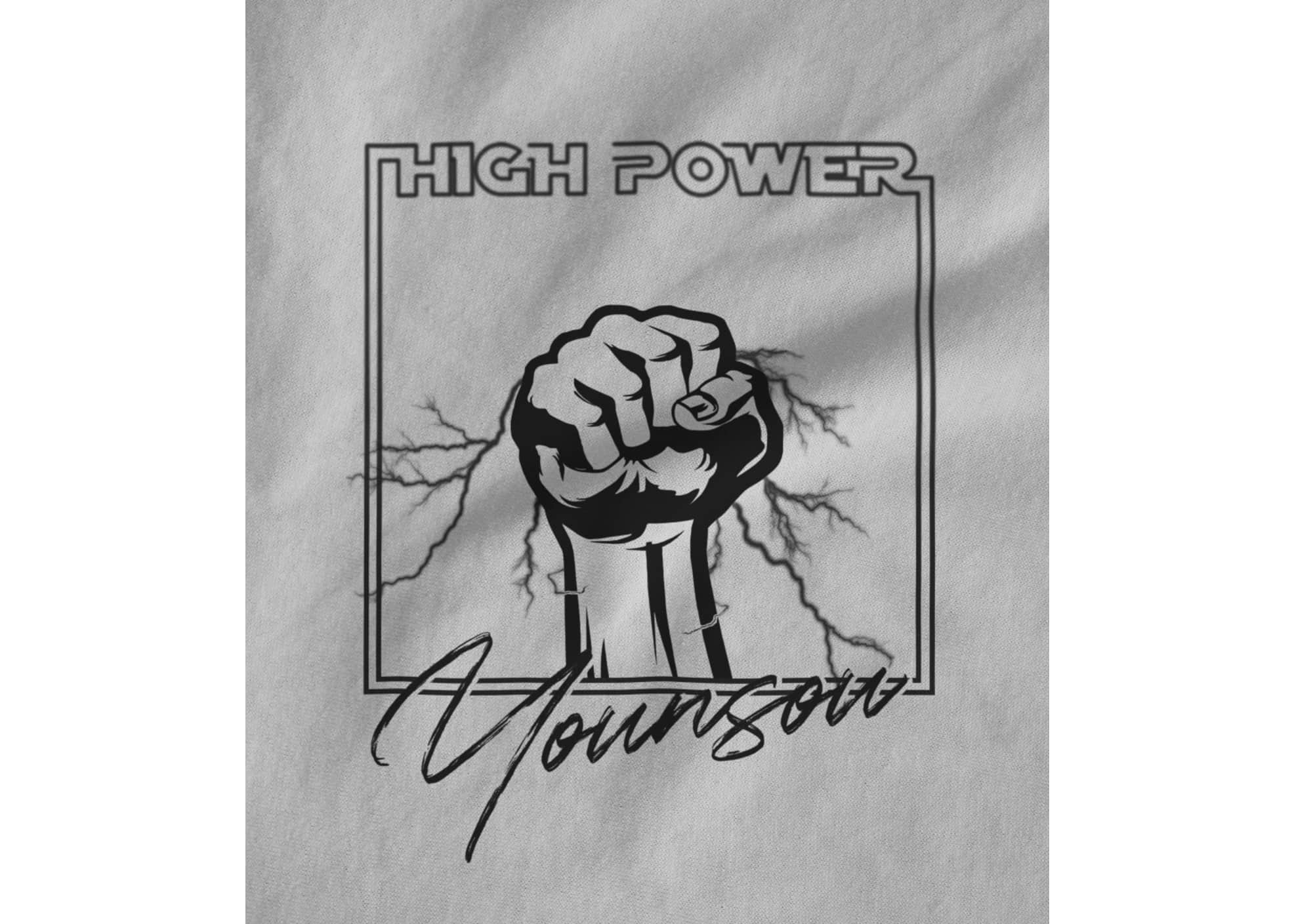 Younsou high power black on white 1625547632