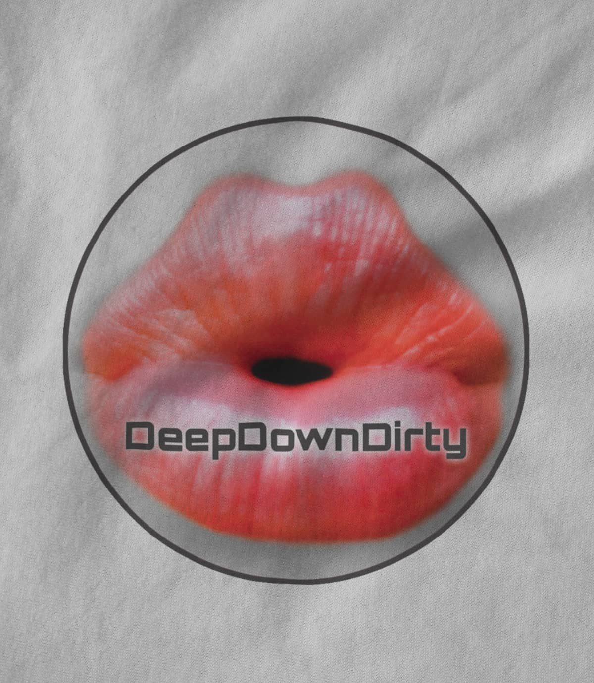 Deepdowndirty record label classic lips round 1522800105