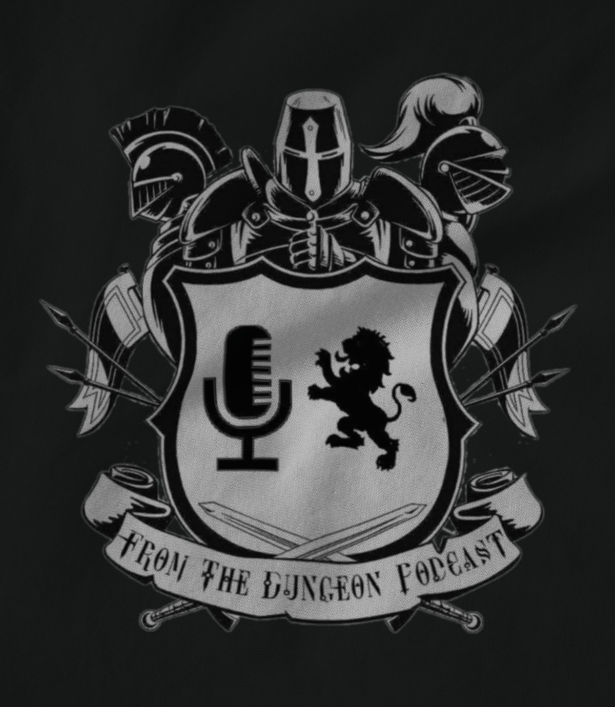 From the dungeon podcast  podcast logo 1526831459