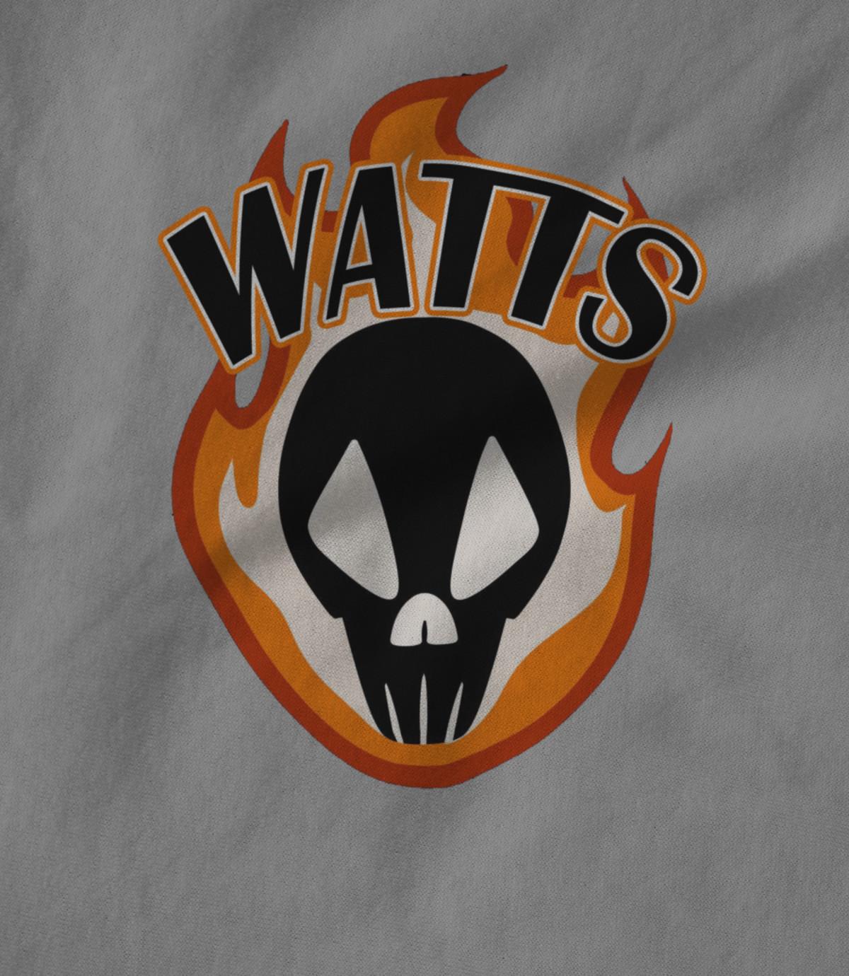 Hogtown pro wrestling watts orange flame 1479163796