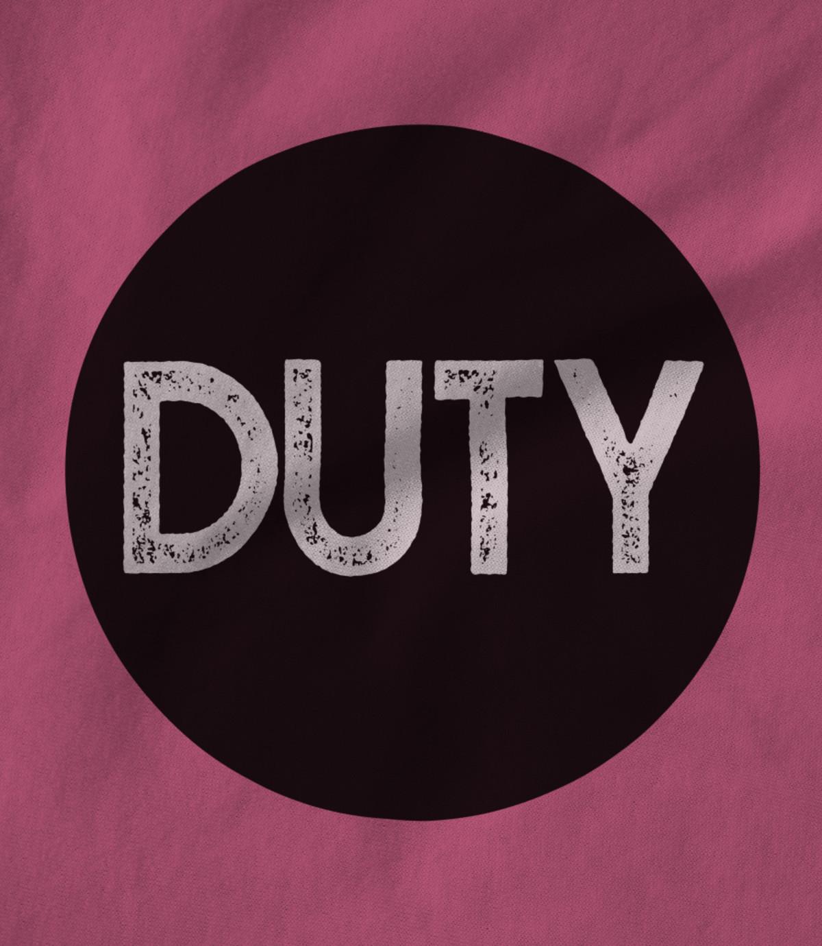 Duty duty circle logo pink 1542364160