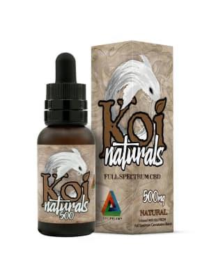 KOI Naturals Tinctures Natural