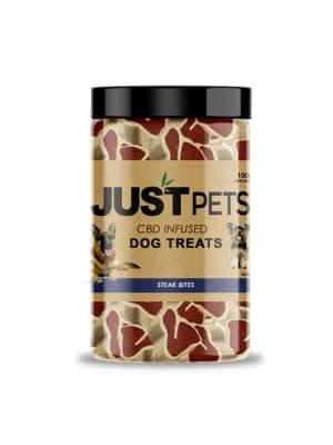 Just CBD Steak Bites Dog Treats