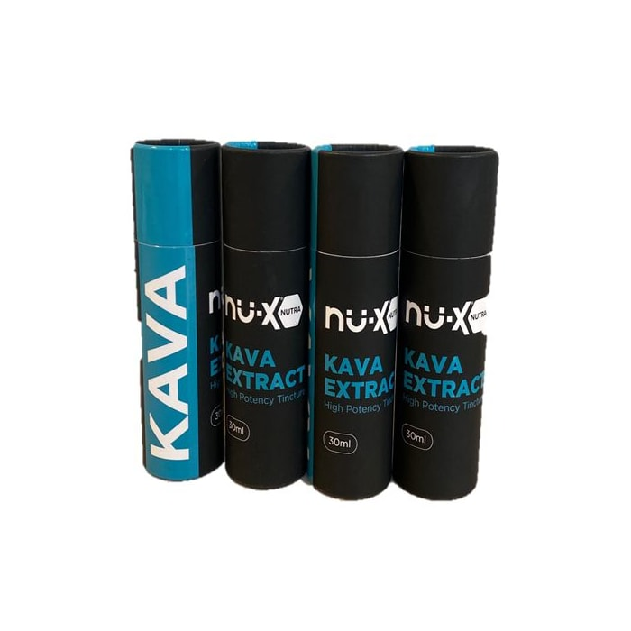 NU-X Kava Extract Tincture - 80 mg - 30 mL