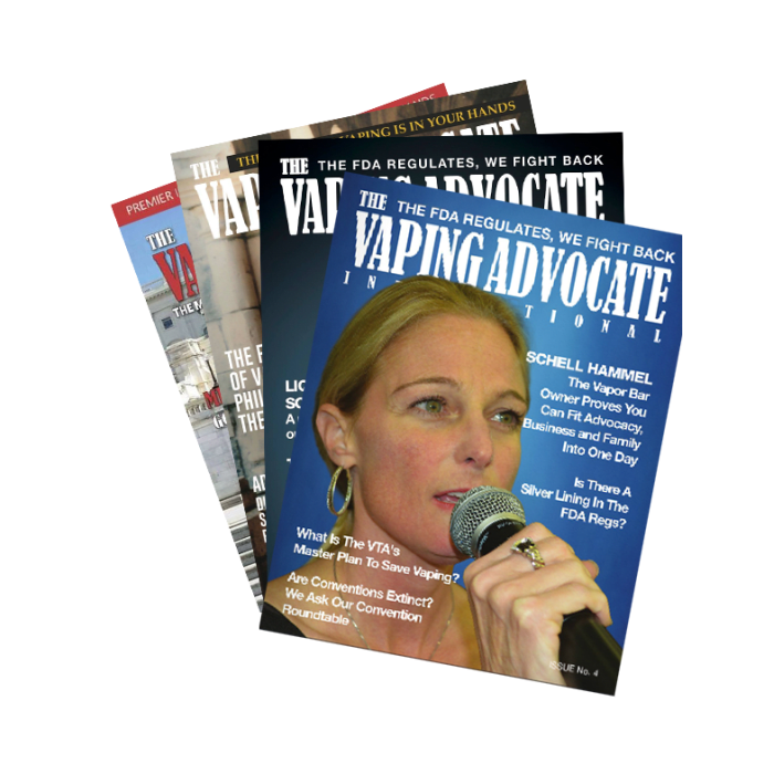 The Vaping Advocate Magazine (3 Pack)