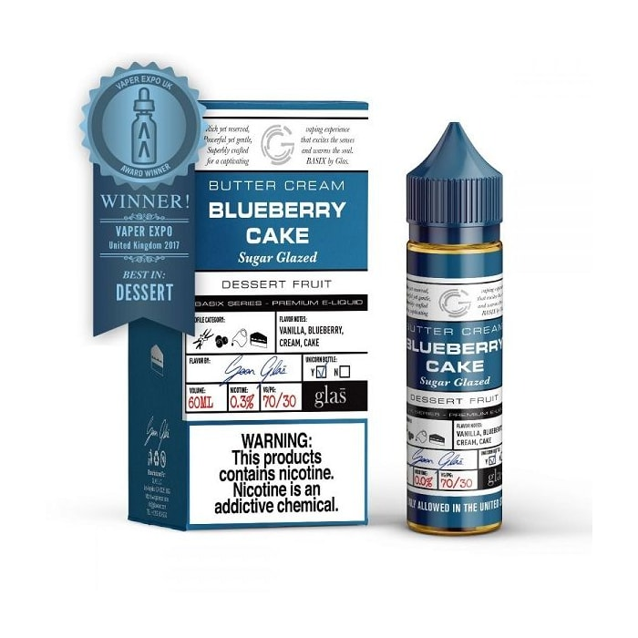 Basix Blueberry Cake