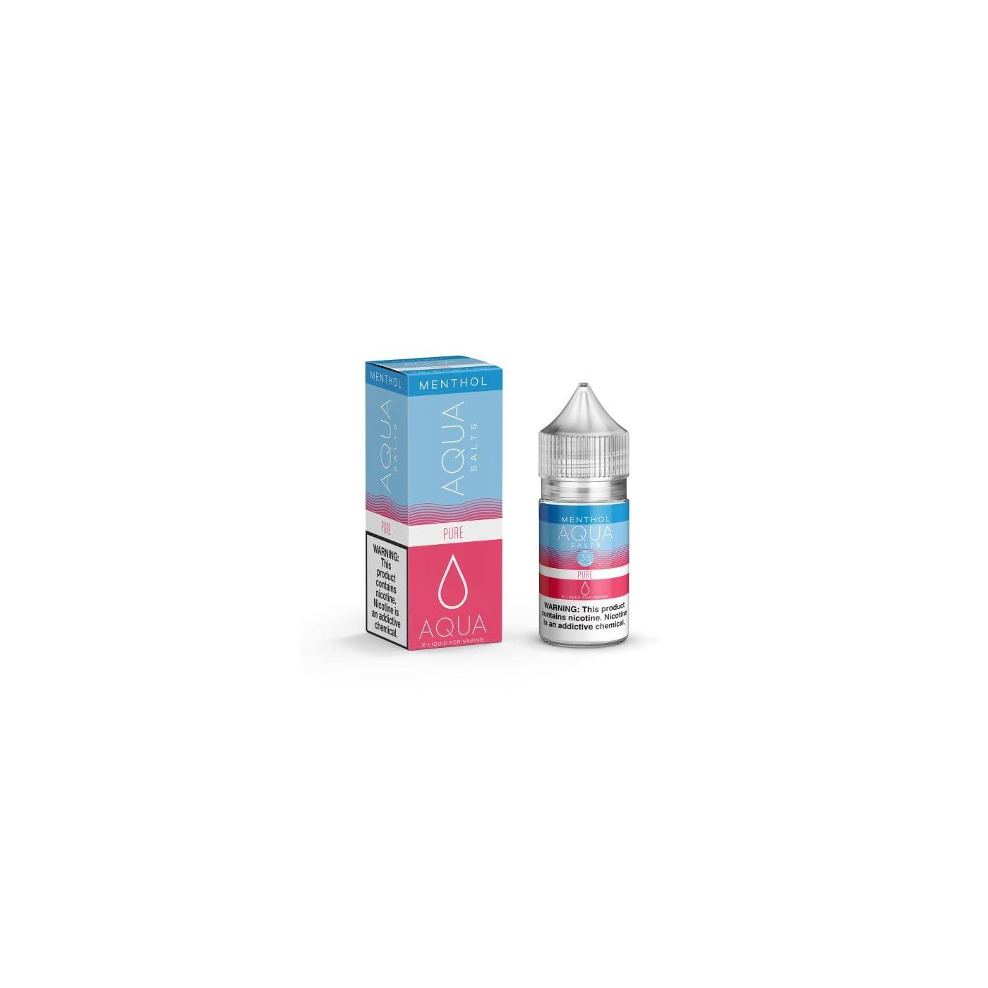 Aqua Salts Pure Menthol Synthetic