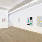 Michael Bell-Smith, 2014, installation view, Foxy Production, New York