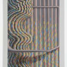Sascha Braunig, Feeder, 2014, oil on linen over panel, 31 x 16 in.