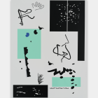 Michael Bell-Smith, Dance Page, 2014, vinyl film on polyester painted aluminum composite panel, 47 1⁄2  × 35 5⁄8  in.
