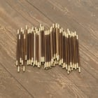 Stephen Lichty, Wands, 2012, wood and brass, dimensions variable, SL_FP2132