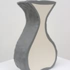 Denise Kupferschmidt, Vase, 2015, cement and acrylic, 14 x 8 3/4 x 3 1/2 in.