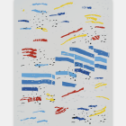 Michael Bell-Smith, Standard and Life - Med, vinyl film on polyester painted aluminum composite panel, 47 1⁄2 × 35 5⁄8 in.