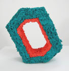 Aperture: Tempo Teal and Gladiolus (hexagon)