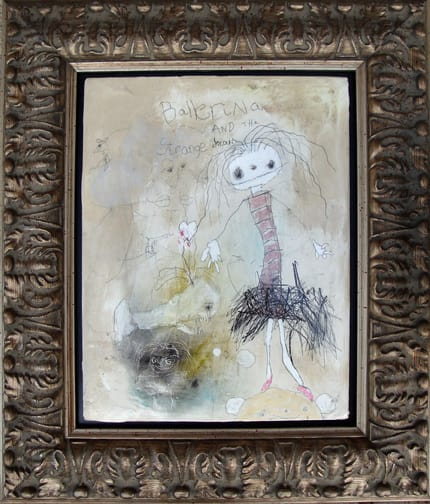Ballerina and the strange dream (sold)