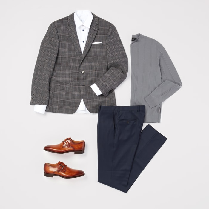 Fall workwear look for men