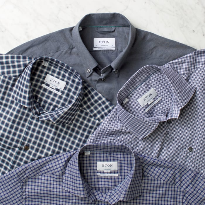 Eton of Sweden shirts