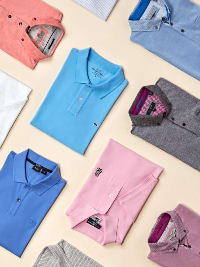 Mens polo shirts with shorts