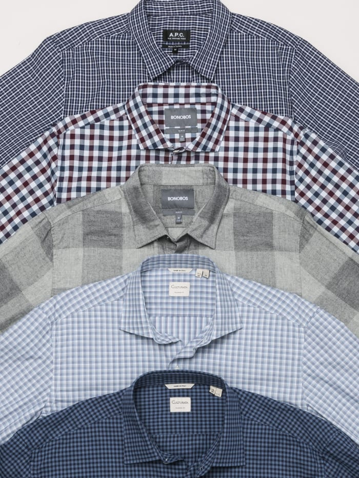 Checkered shirts for men