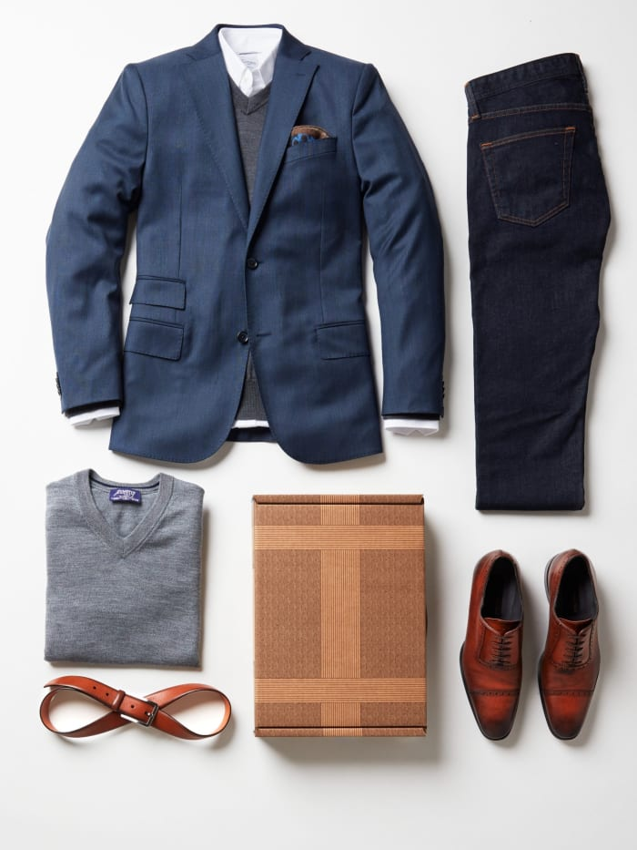 Six Men's Wardrobe Essentials Portrait