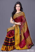 Soft-Cotton-Tangail-Saree-ts-532