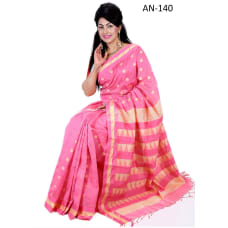 Soft Half- Silk Sari-AN-140