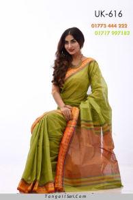 Soft Cotton Tangail Saree-UK-616