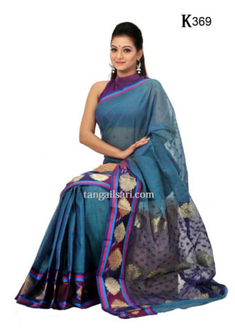 Soft-Cotton-Tangail-Saree-ts-369