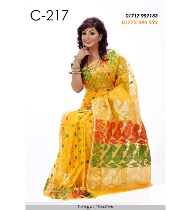 JAMDANI Sari-C217