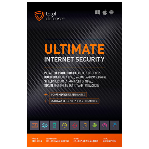 Ultimate 1YR internet Security Software